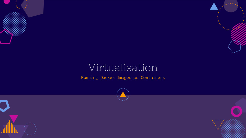 Virtualisation Running Docker Images as Contain...