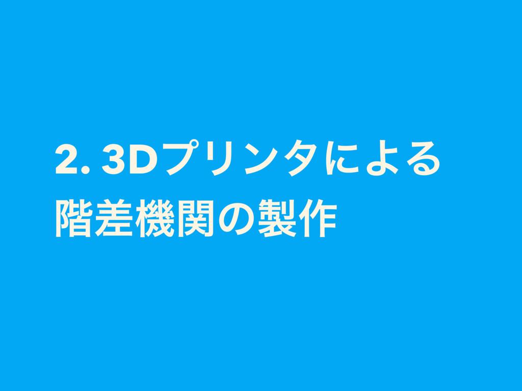 2. 3DϓϦϯλʹΑΔ ֊ࠩػؔͷ࡞