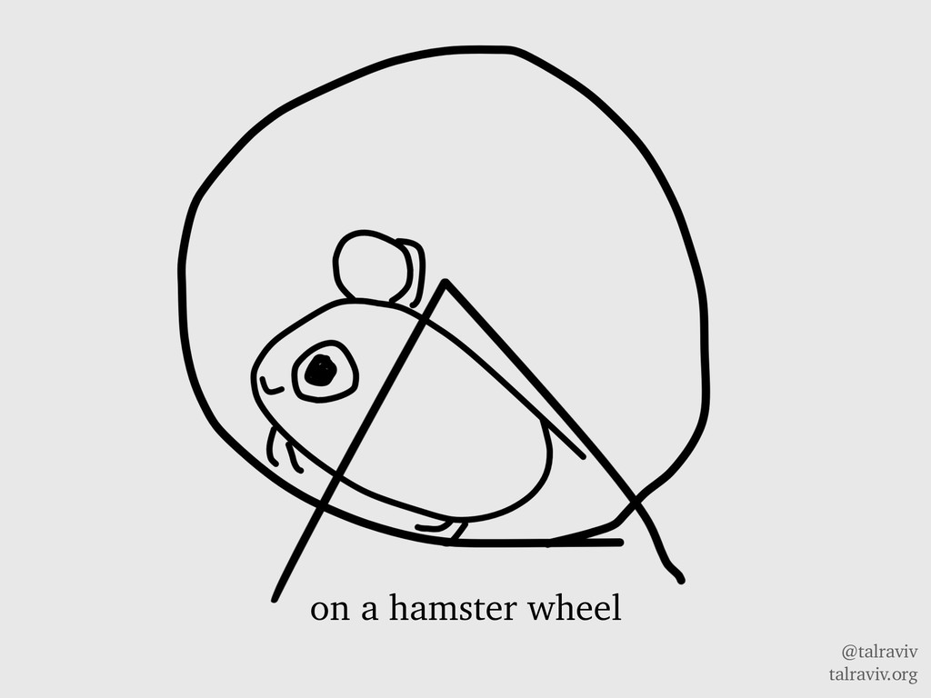@talraviv talraviv.org on a hamster wheel