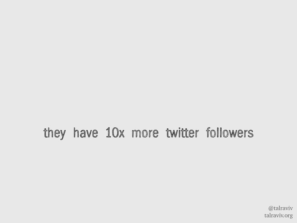 @talraviv talraviv.org they have 10x more twitt...
