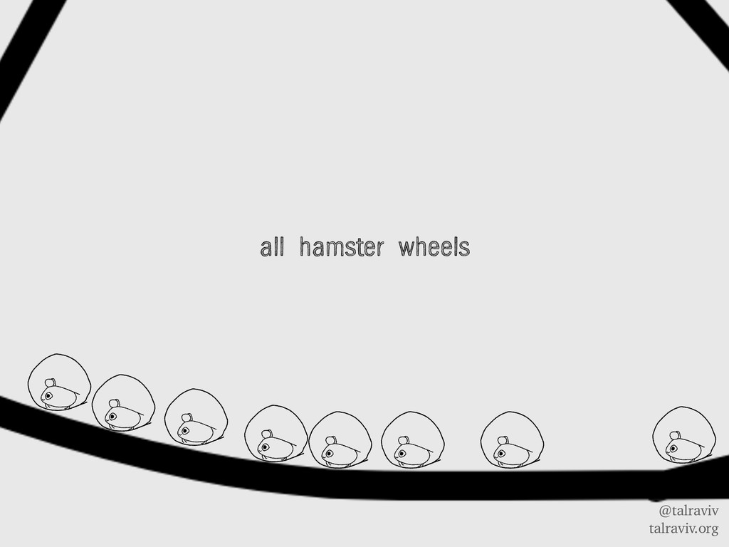 @talraviv talraviv.org all hamster wheels
