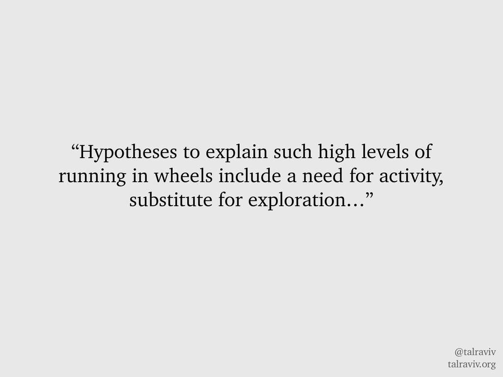 "@talraviv talraviv.org ""Hypotheses to explain s..."