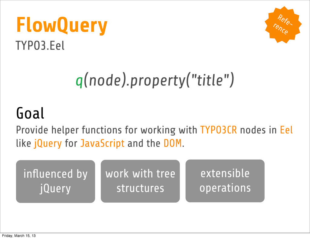 """Refe- rence q(node).property(""""title"""") Goal Prov..."""