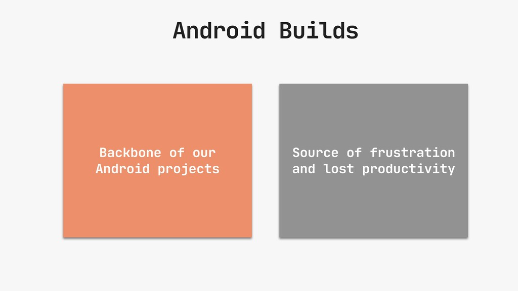 Android Builds Backbone of our Android projects...