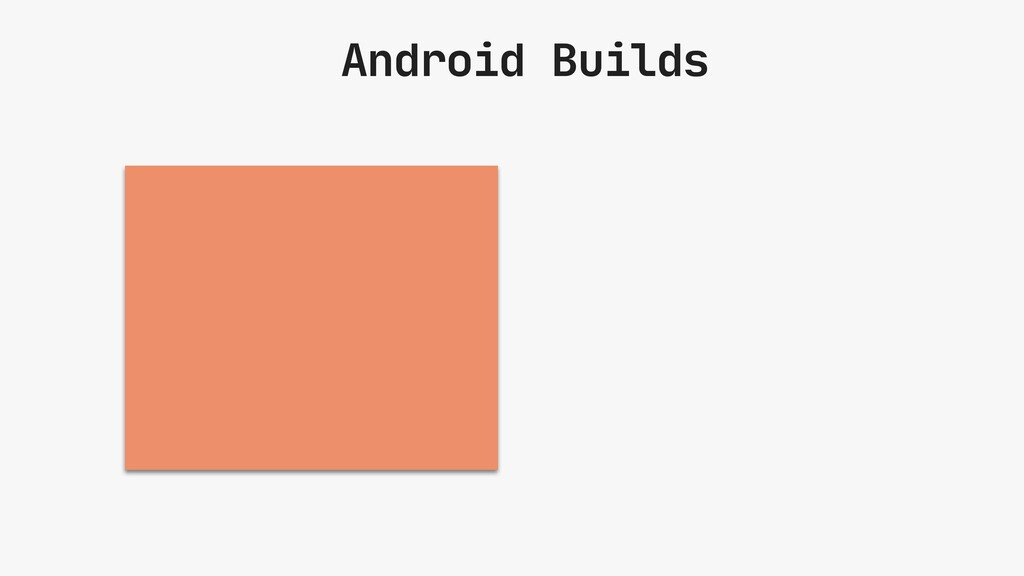 Android Builds Backbone of our Android projects