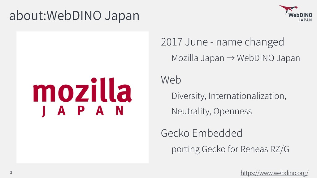 about:WebDINO Japan 2017 June - name changed Mo...