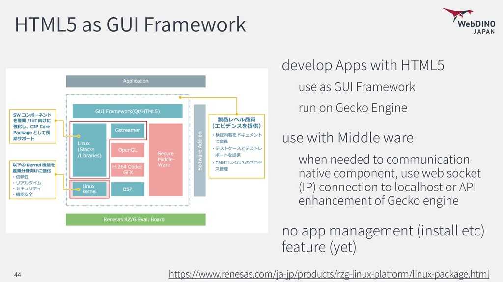 HTML5 as GUI Framework develop Apps with HTML5 ...