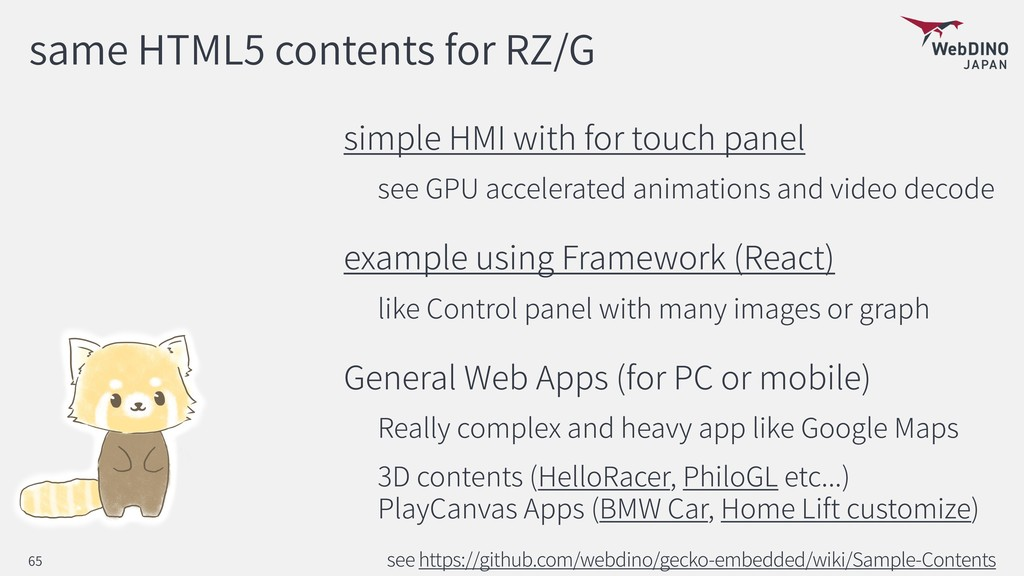 same HTML5 contents for RZ/G simple HMI with fo...