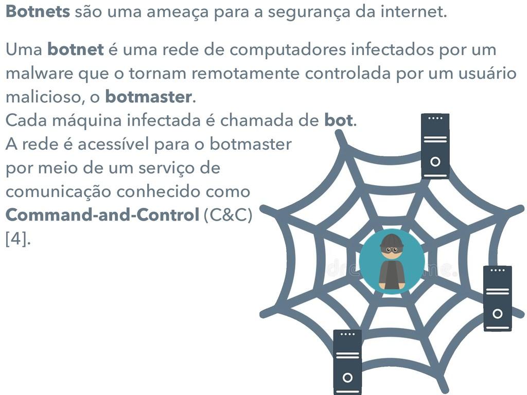 Botnets são uma ameaça para a segurança da inte...
