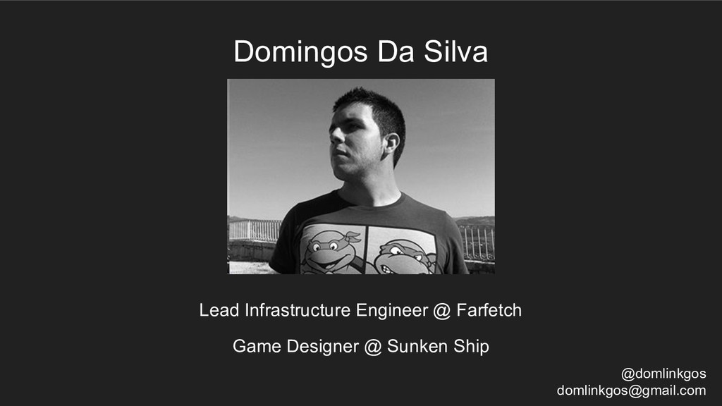 Lead Infrastructure Engineer @ Farfetch Domingo...