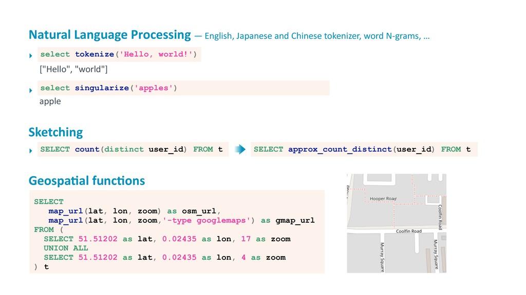 Natural Language Processing — English, Japanese...