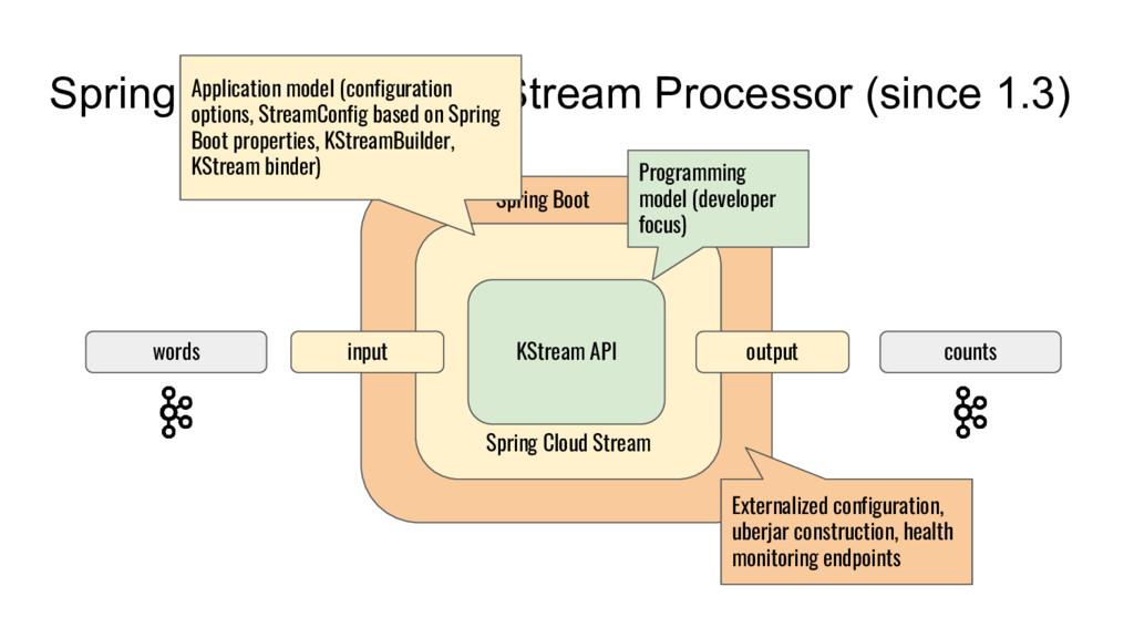 Spring Cloud Stream KStream Processor (since 1....