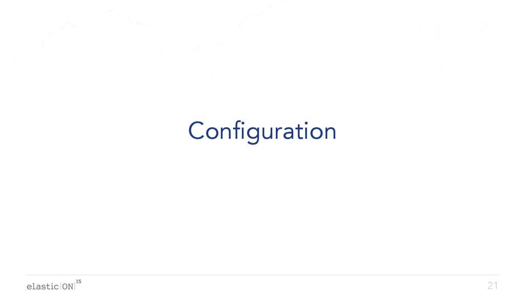 { } Configuration 21