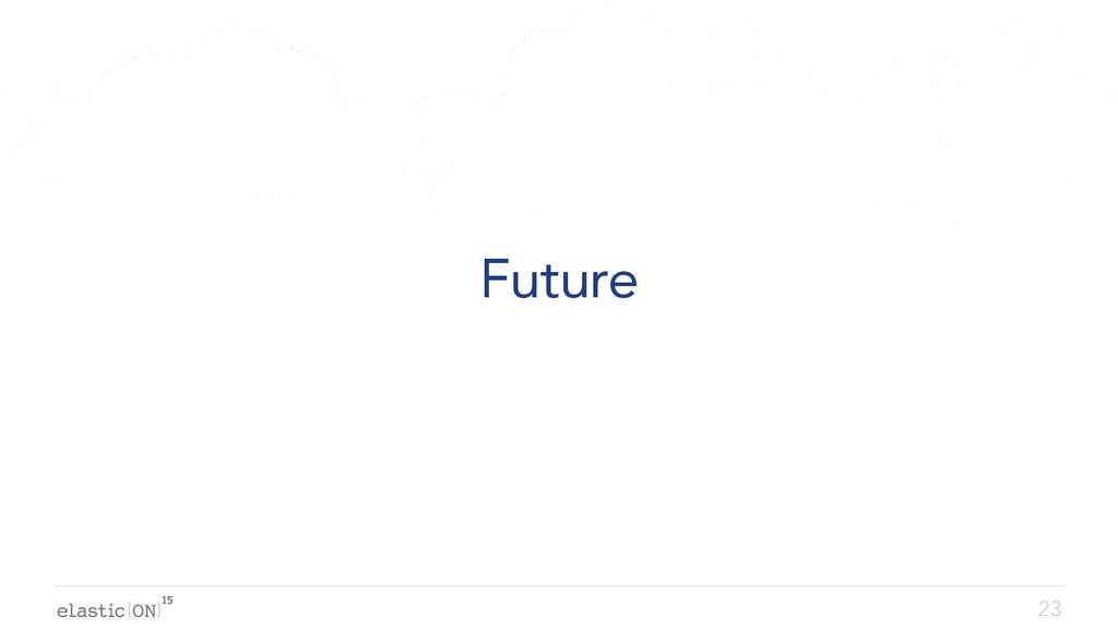 { } Future 23