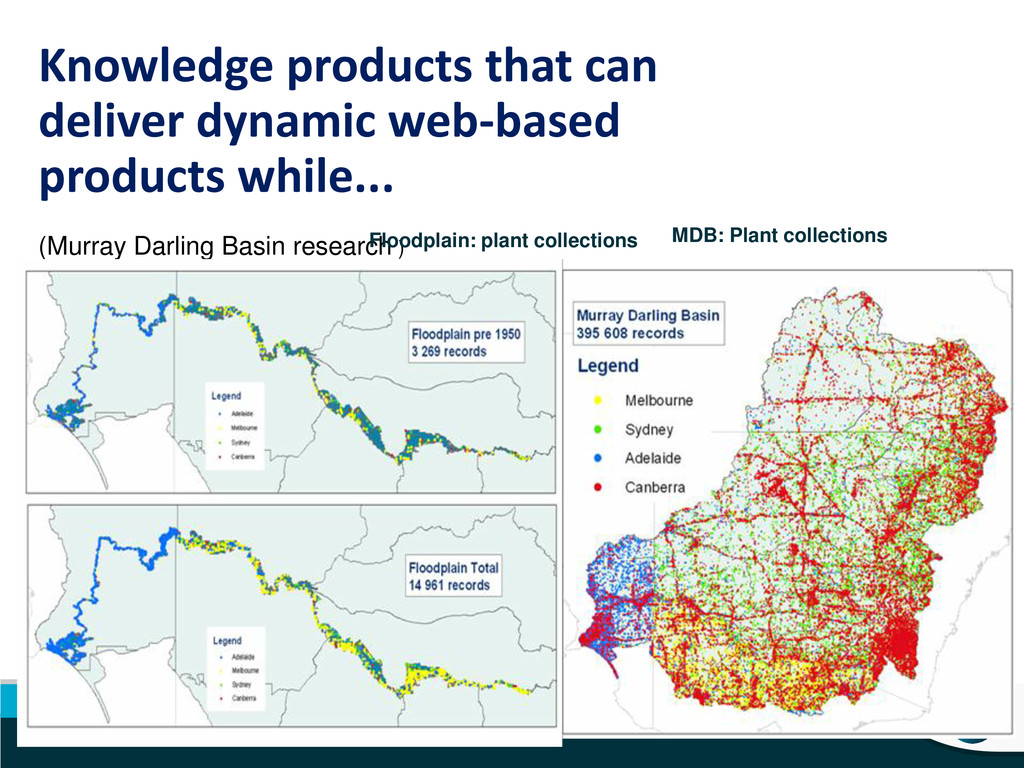 Knowledge products that can deliver dynamic web...