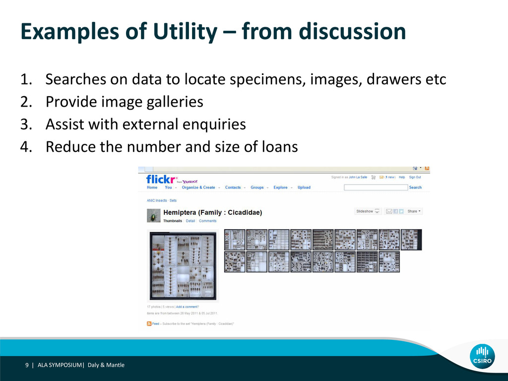 Examples of Utility – from discussion 1. Search...