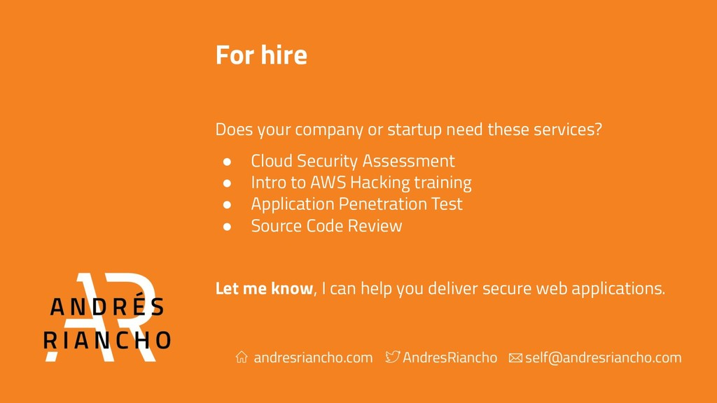 For hire Does your company or startup need thes...