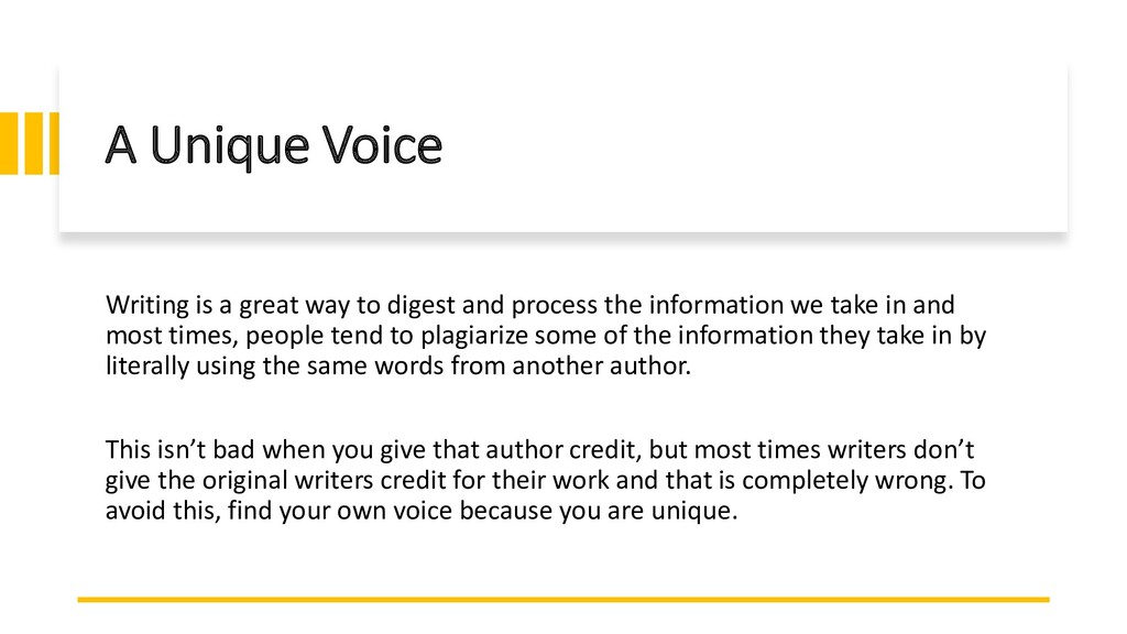 Interswitch - INTERNAL A Unique Voice Writing i...
