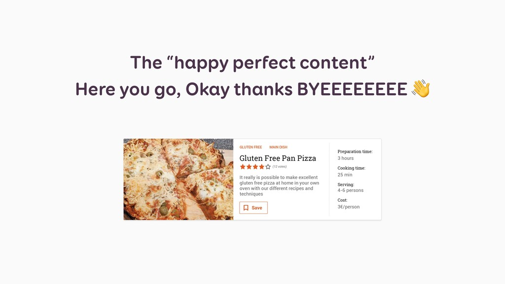 "The ""happy perfect content"" Here you go, Okay t..."
