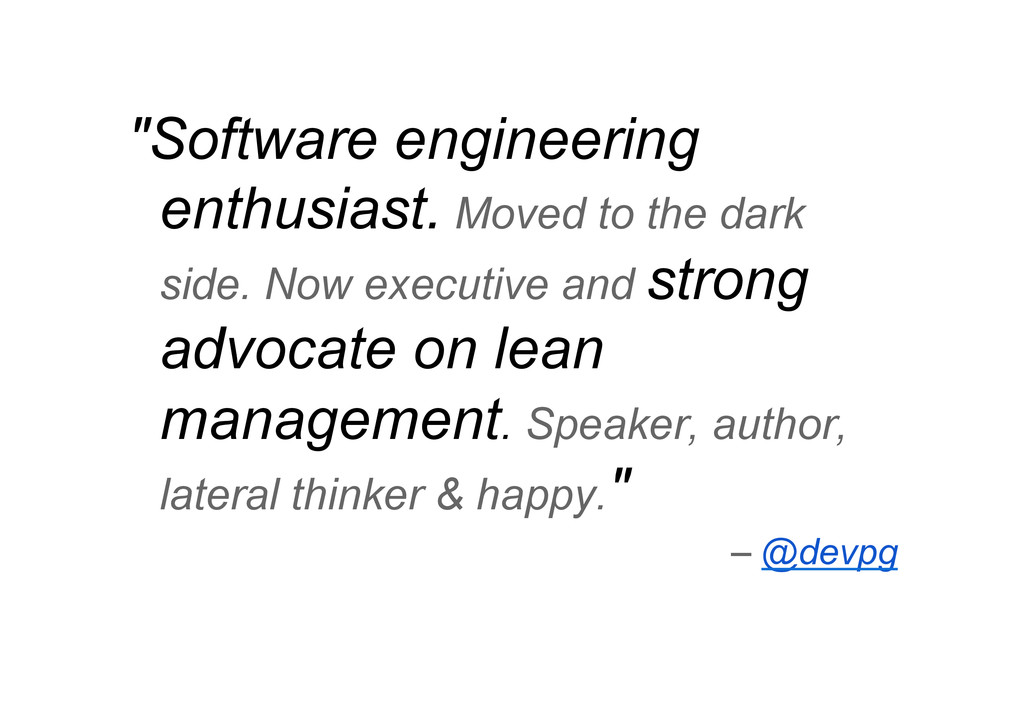 """Software engineering enthusiast. Moved to the ..."