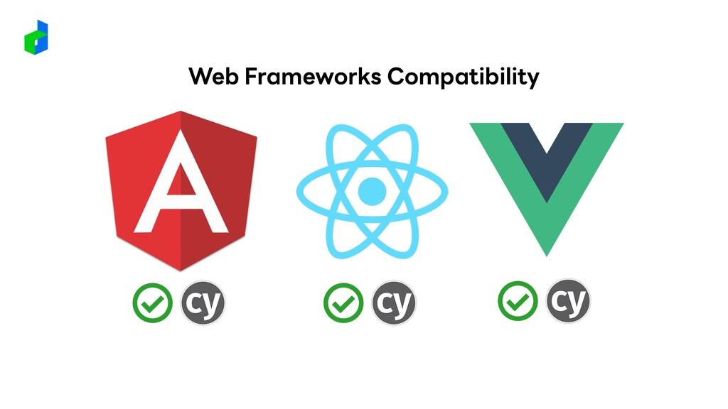 Web Frameworks Compatibility