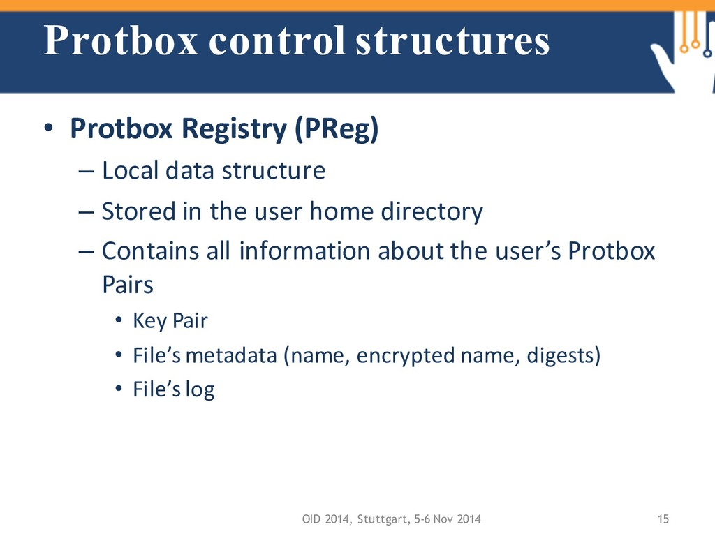 Protbox control structures • Protbox Registry (...