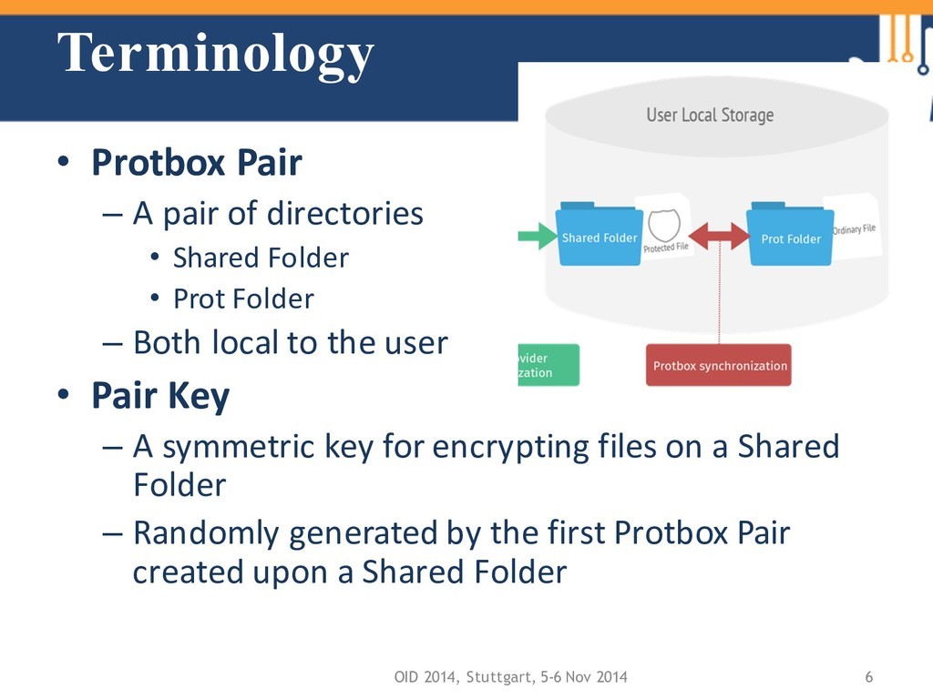 Terminology • Protbox Pair – A pair of director...
