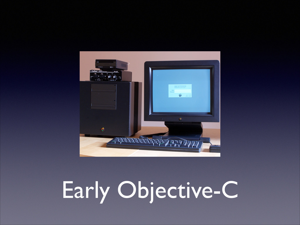 Early Objective-C