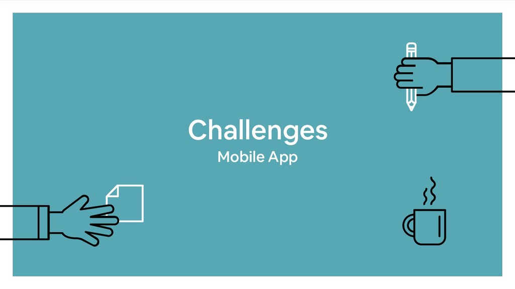 Challenges Mobile App
