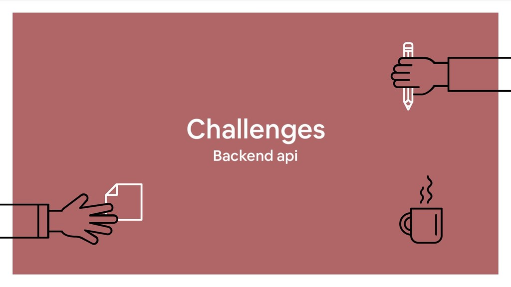 Challenges Backend api