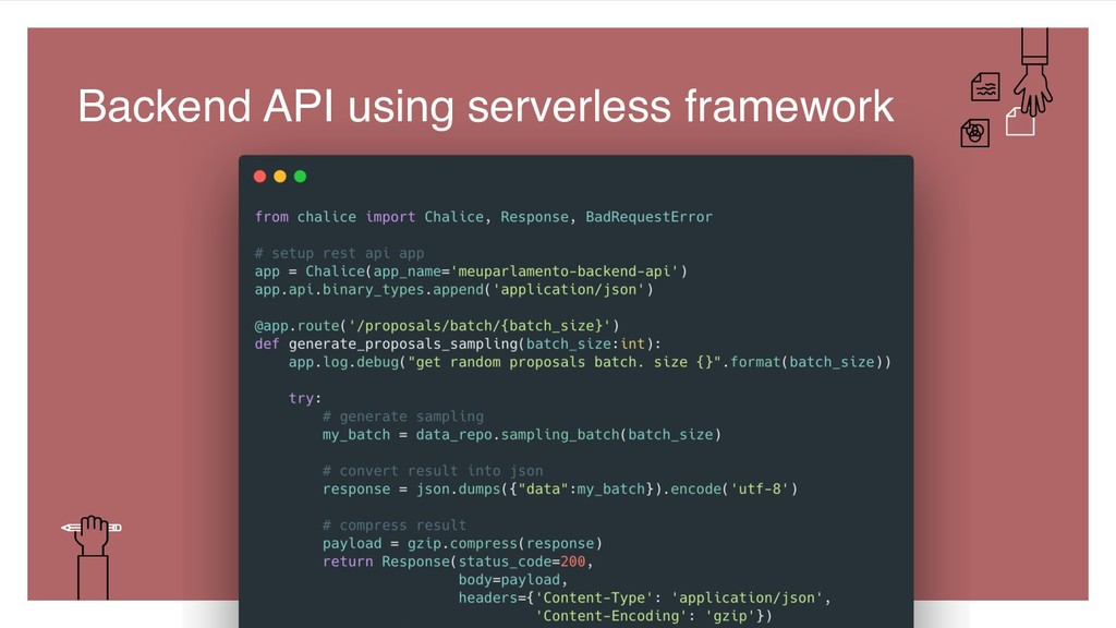 46 Backend API using serverless framework