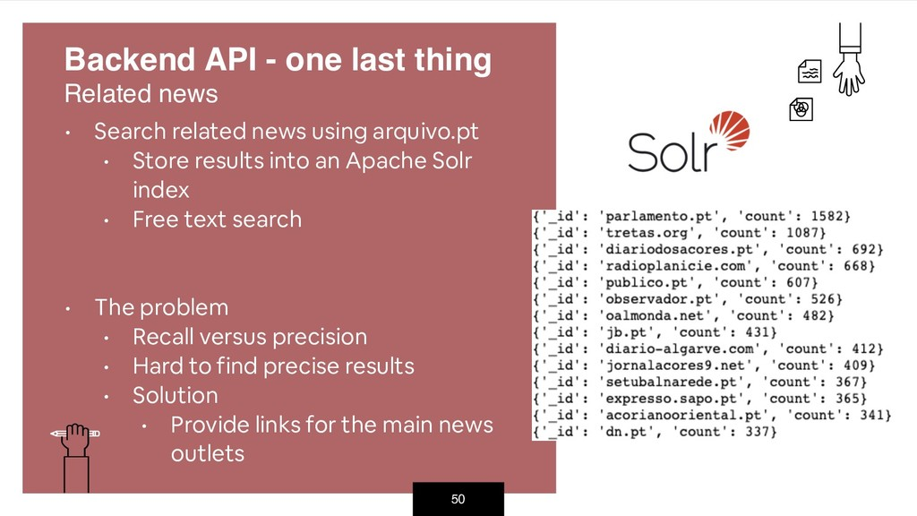 50 • Search related news using arquivo.pt • Sto...