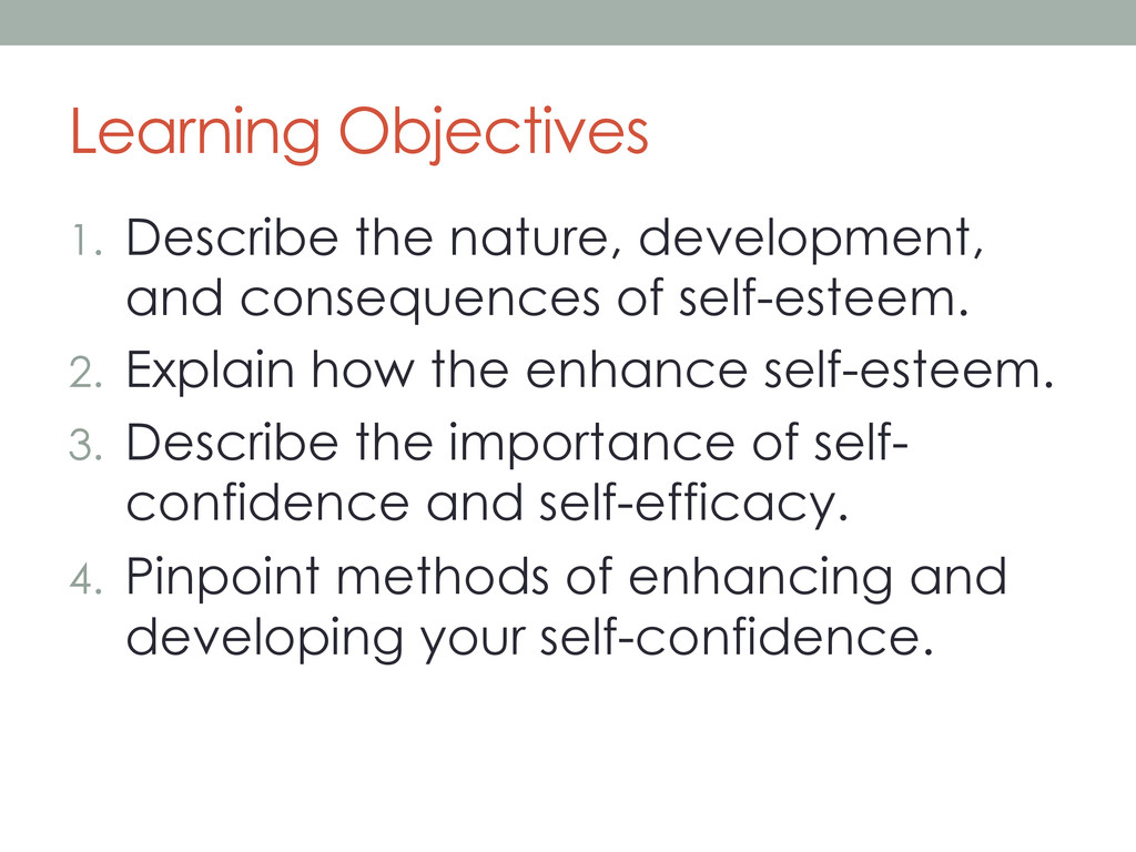 Learning Objectives 1.  Describe the nature, de...