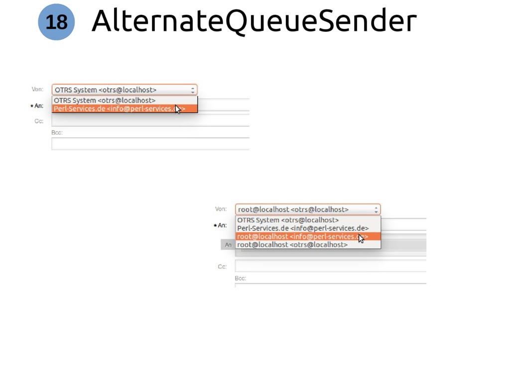 AlternateQueueSender 18
