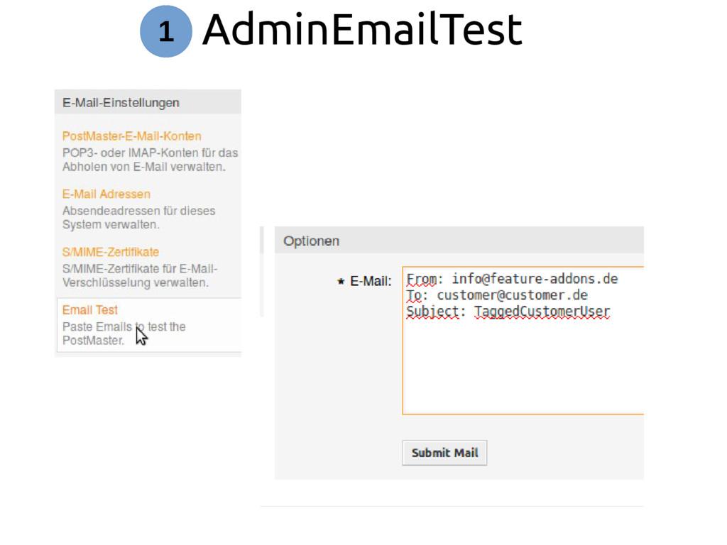 AdminEmailTest 1