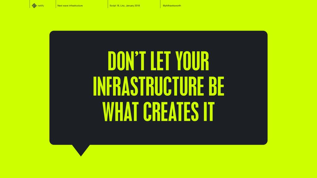 netlify Next wave infrastructure Script 18, Lin...