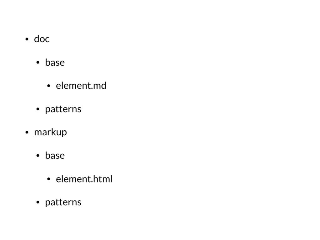• doc • base • element.md • patterns • markup •...