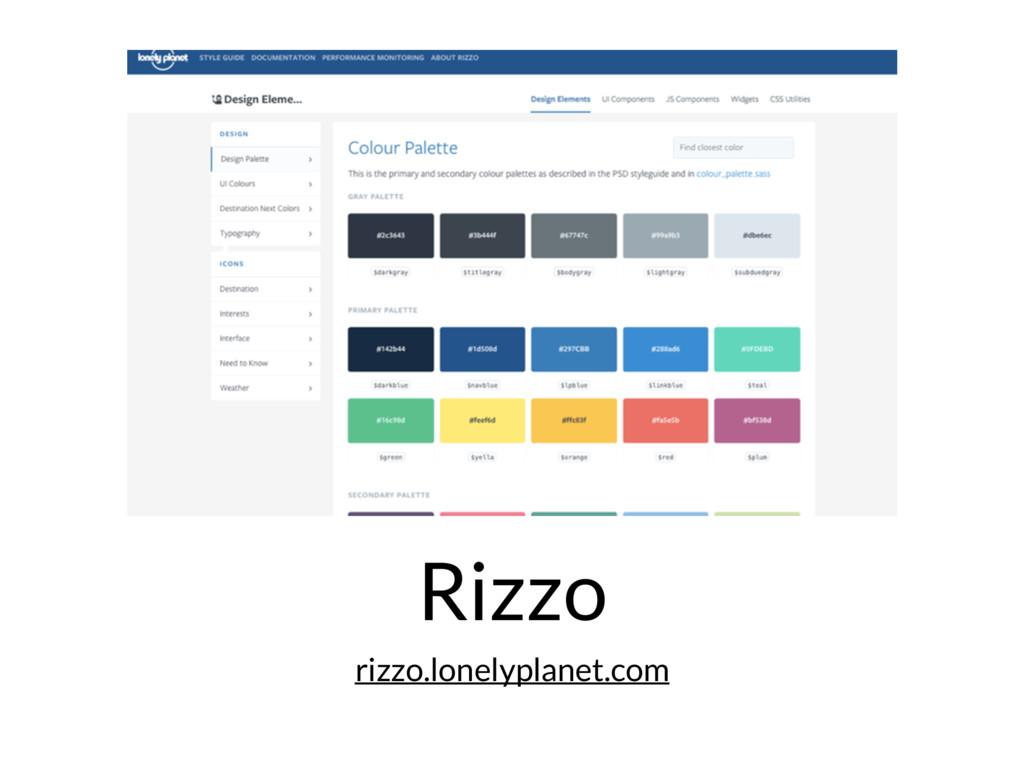 Rizzo rizzo.lonelyplanet.com