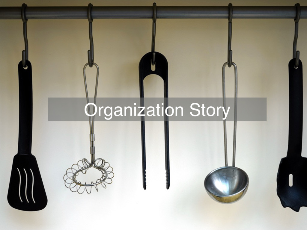 Whobuilds infrastructures? Organization Story