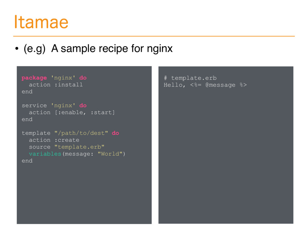 *UBNBF • (e.g) A sample recipe for nginx packag...