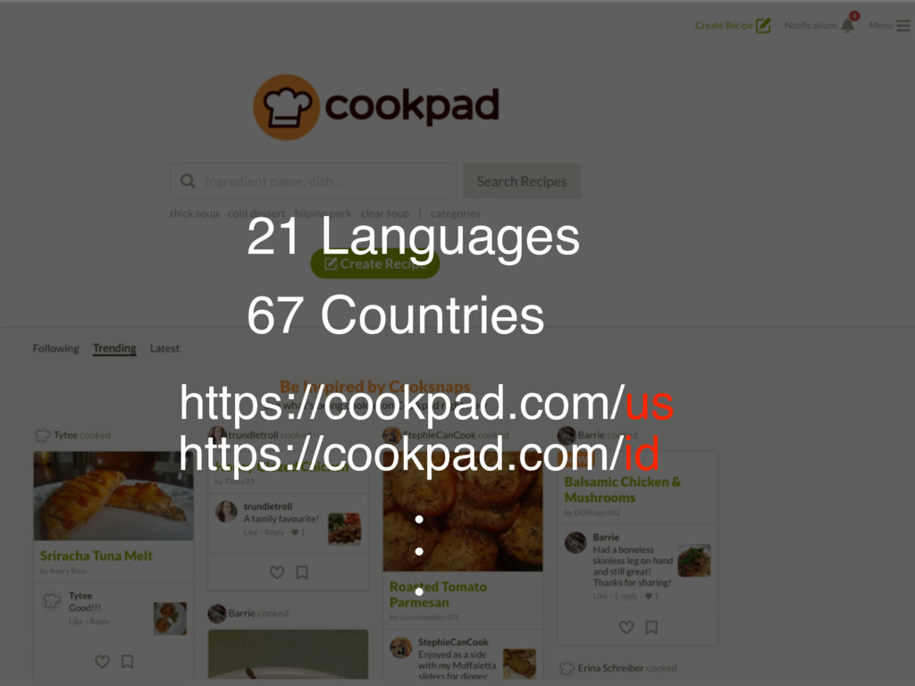 (MPCBMαʔϏεͷઆ໌ 21 Languages 67 Countries https:/...