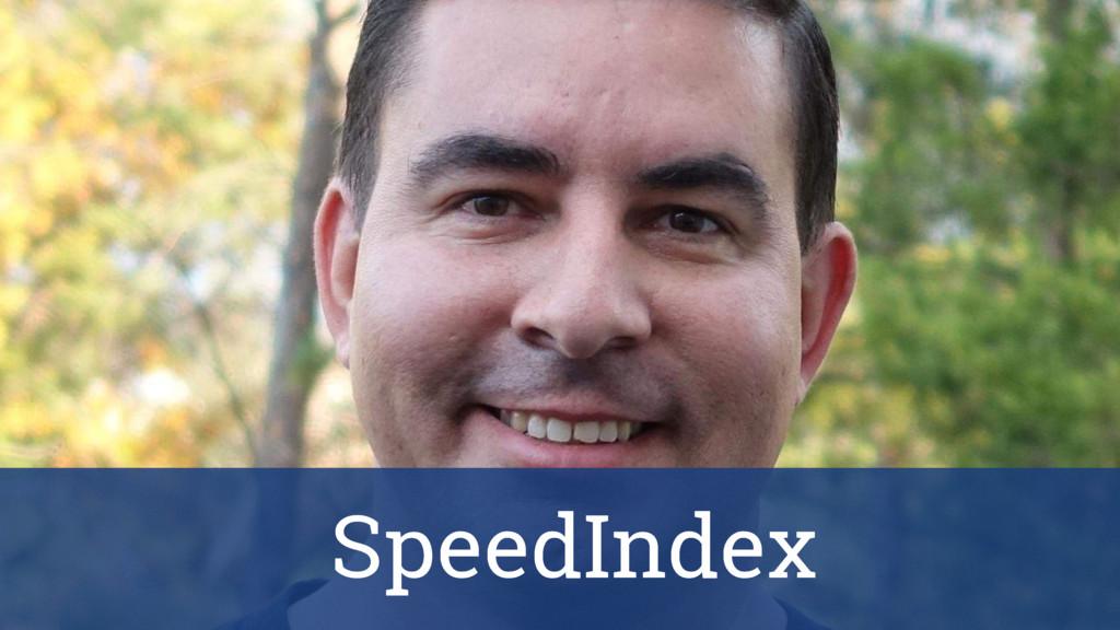 First paint SpeedIndex