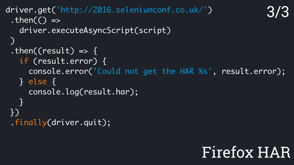 driver.get('http://2016.seleniumconf.co.uk/') ....