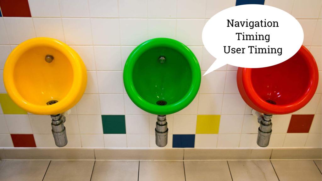 Navigation Timing User Timing