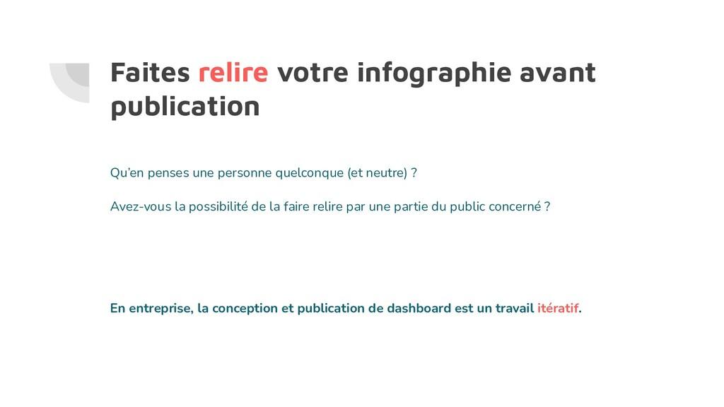 Faites relire votre infographie avant publicati...