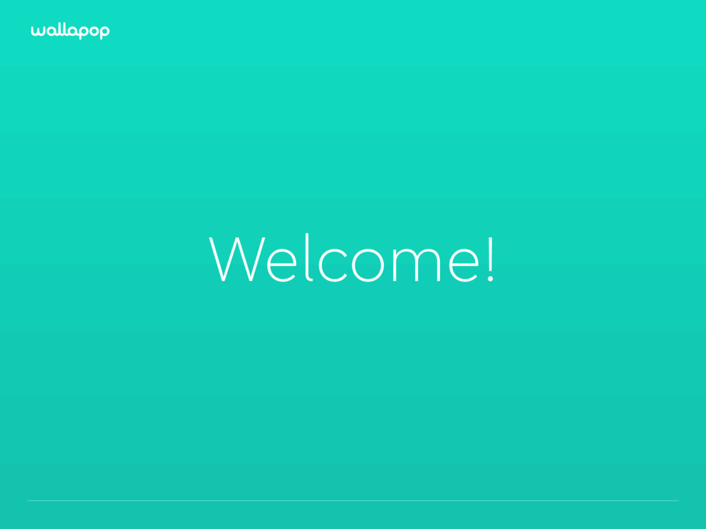 ≥ Welcome!