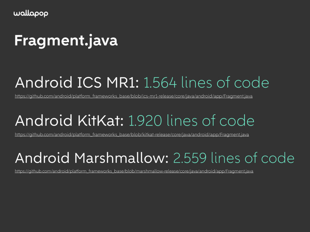 ≥ Fragment.java Android ICS MR1: 1.564 lines of...