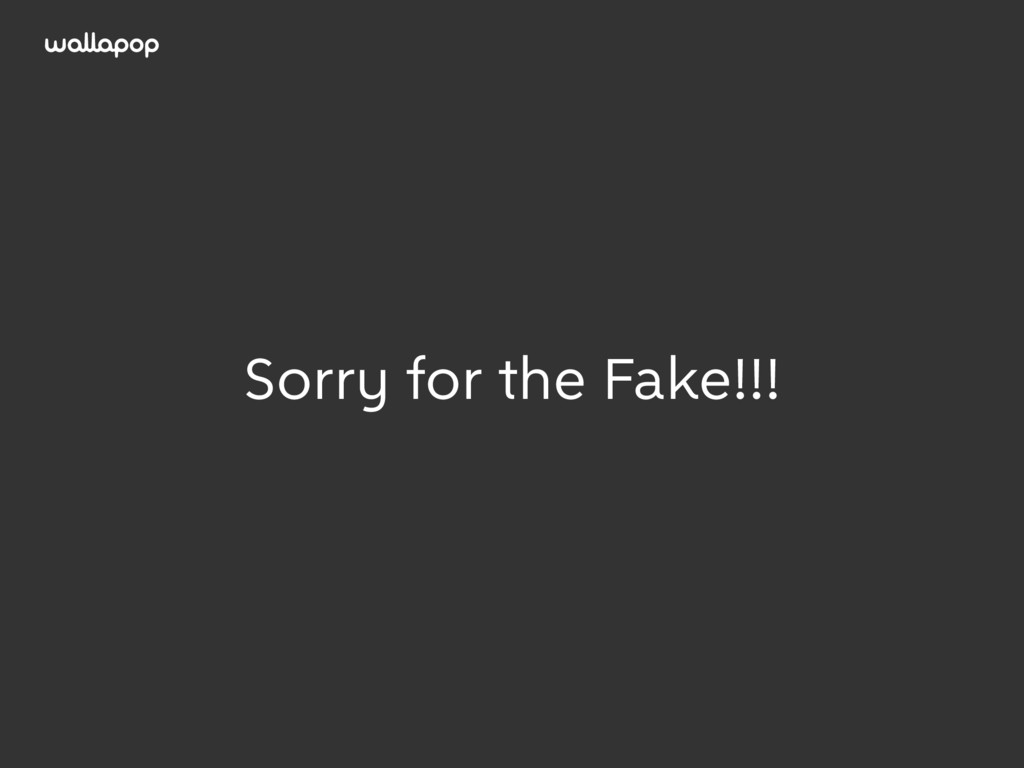 ≥ Sorry for the Fake!!!