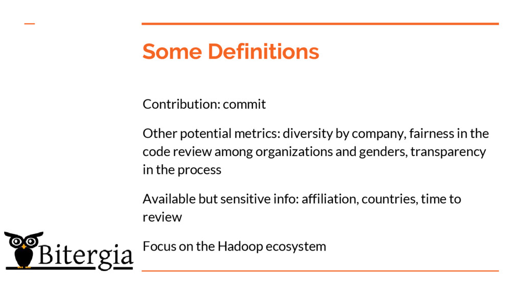 Some Definitions Contribution: commit Other pot...