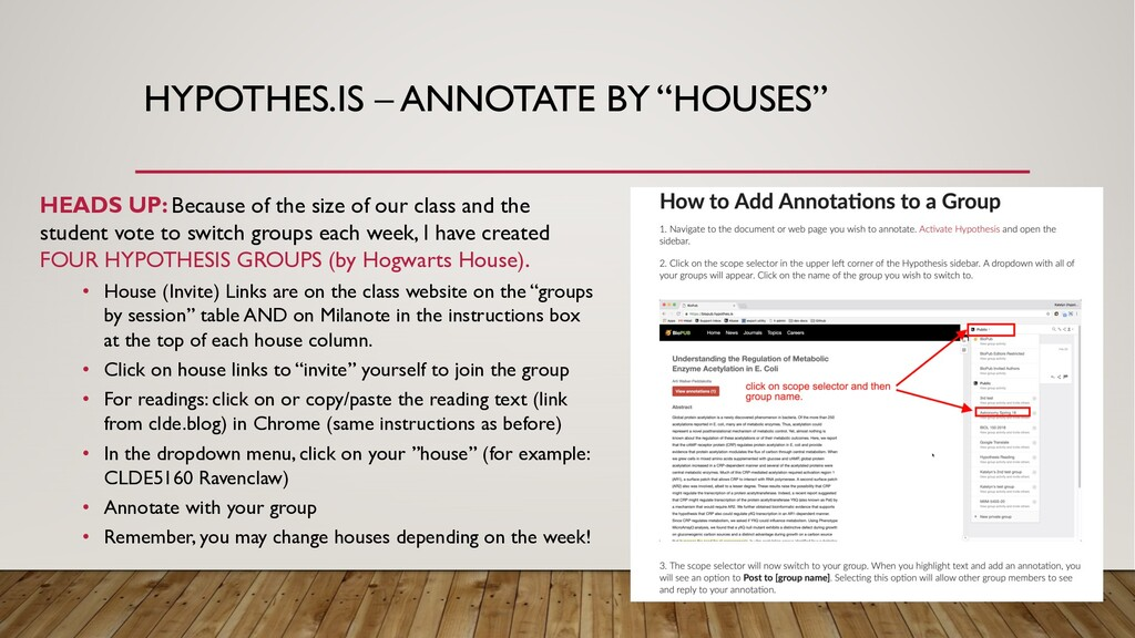 "HYPOTHES.IS – ANNOTATE BY ""HOUSES"" HEADS UP: Be..."
